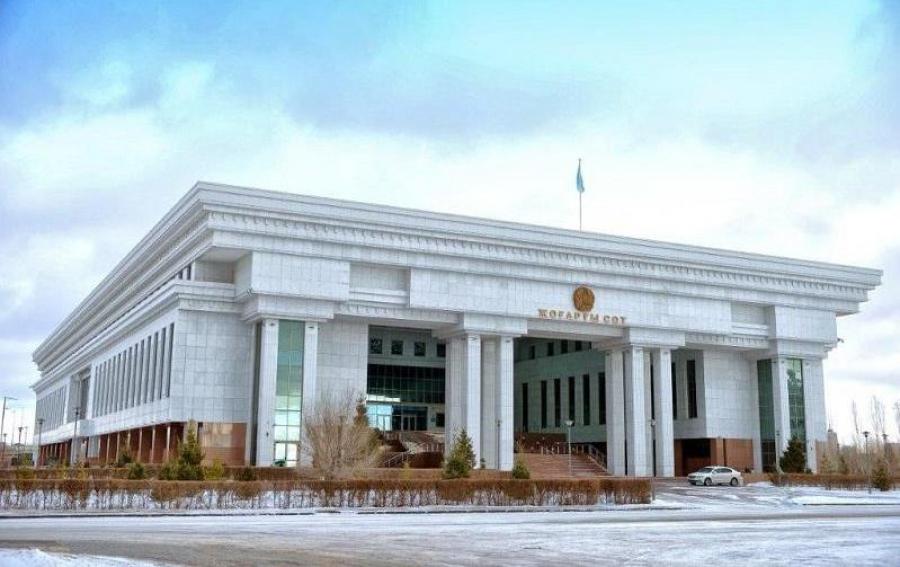 Судья Исабеков совершил проступок, противоречащий кодексу судейской этики