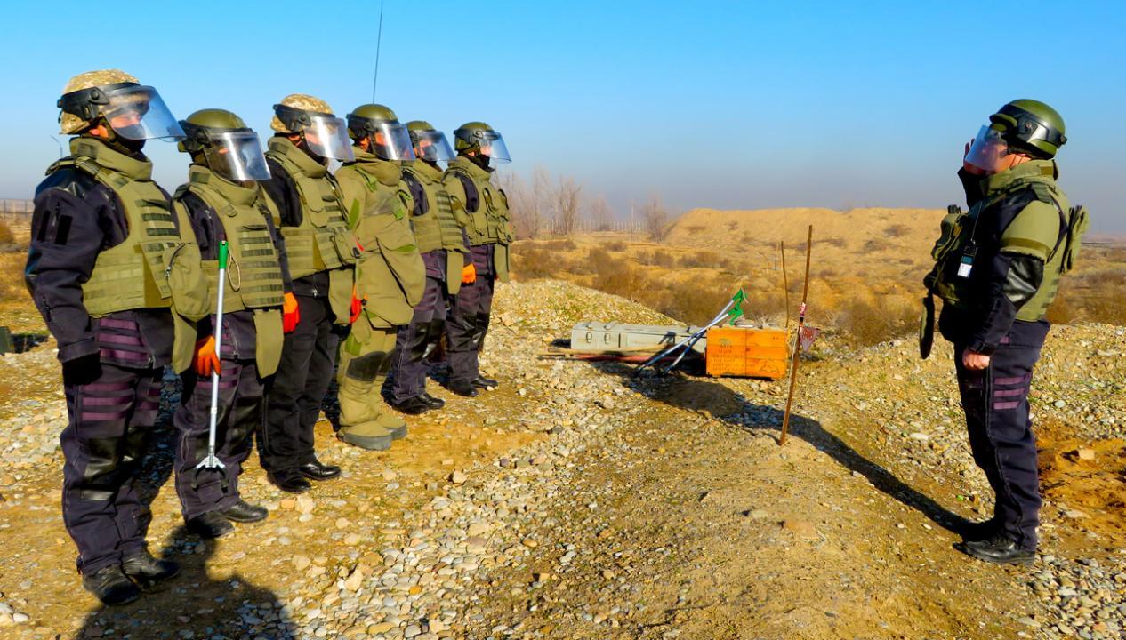 Возобновлены работы по утилизации боеприпасов в Арыси