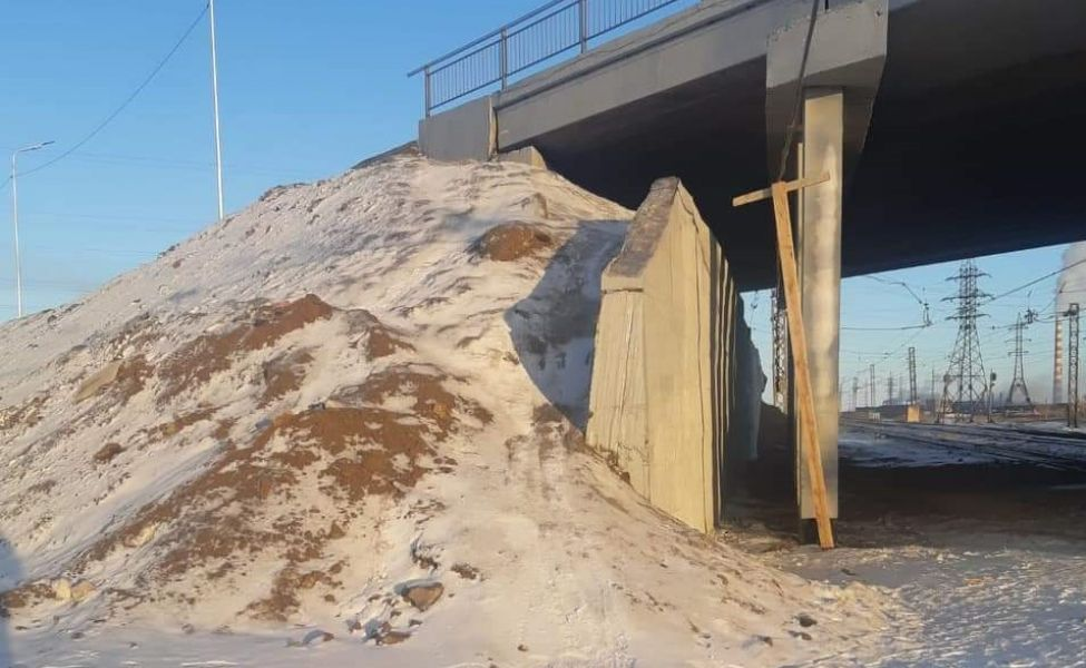 Путепровод в Жезказгане не сдали в эксплуатацию, но всё равно открыли для горожан