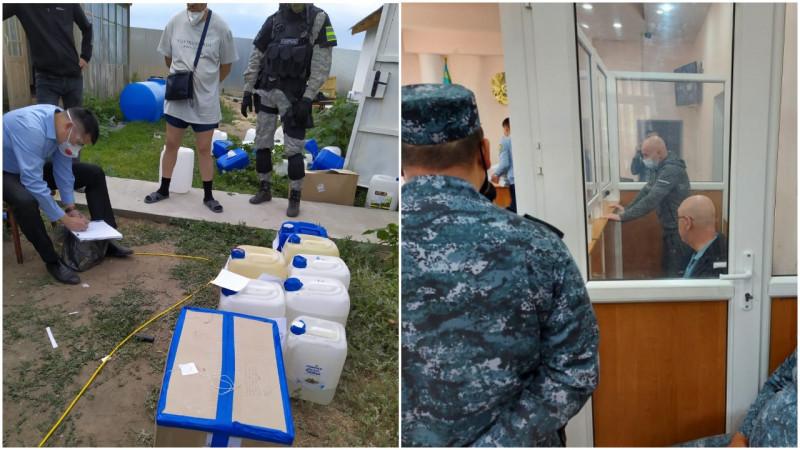 Полицейские ЗКО ответили на обвинения по делу о крупнейшей партии синтетических наркотиков