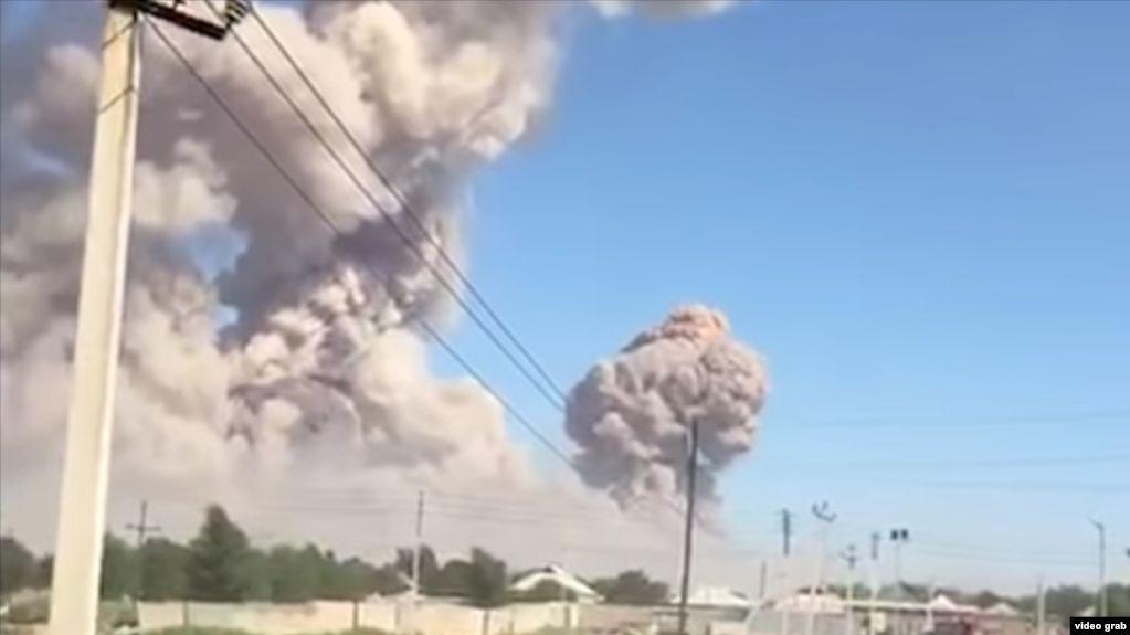 Взрывы в Арыси: прокурор запросил для подсудимых от 4 до 10 лет тюрьмы