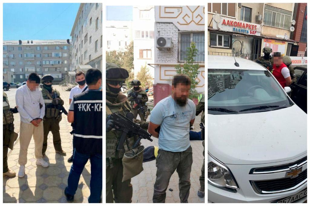 О пресечении преступной группы в Атырауской области сообщили в КНБ