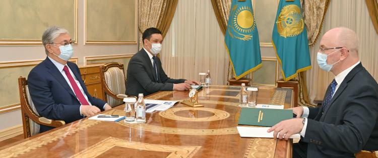 Глава государства принял председателя Высшего Судебного Совета Дениса Шиппа