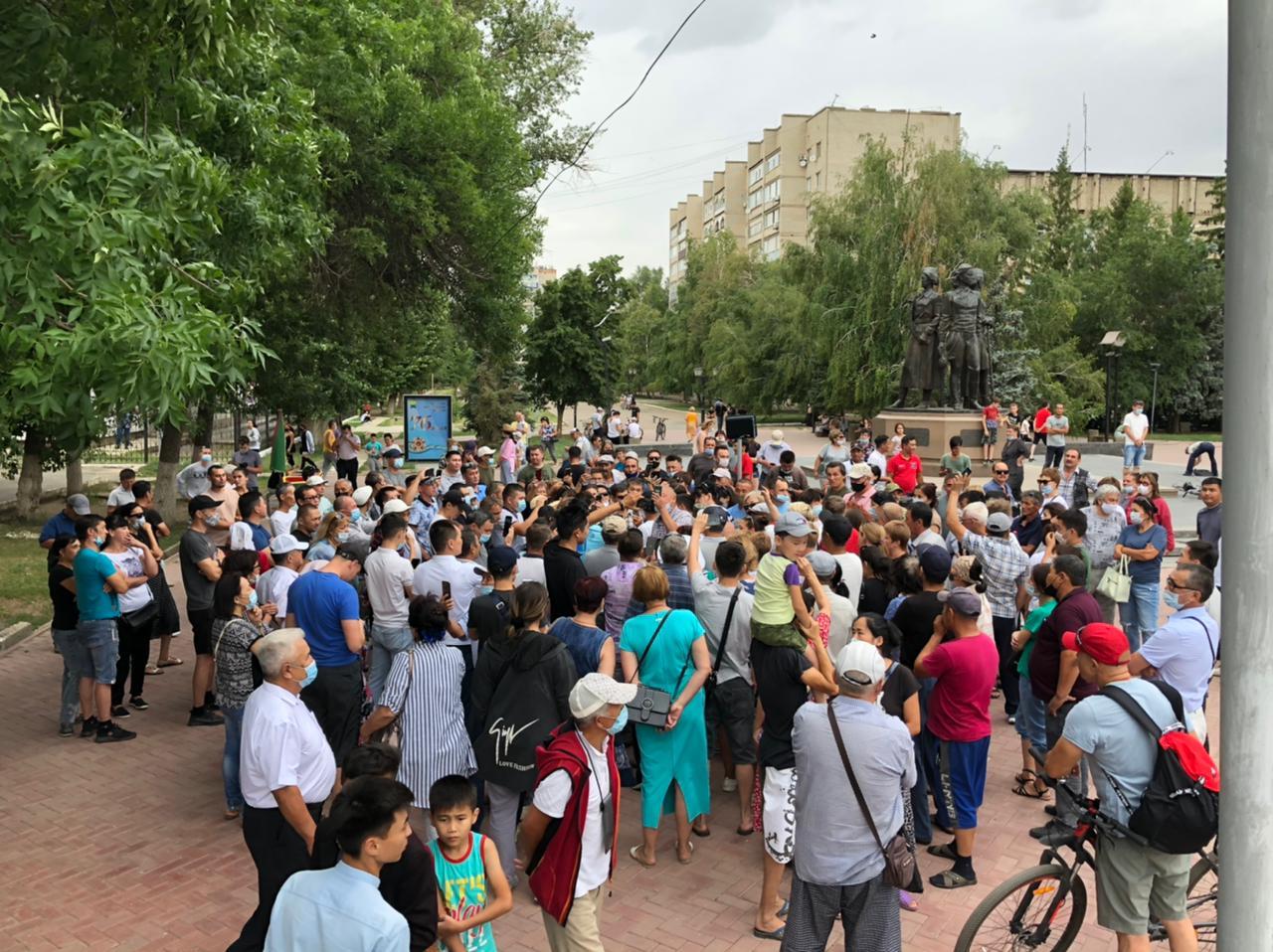 На пять суток арестованы участники митинга против принудительной вакцинации