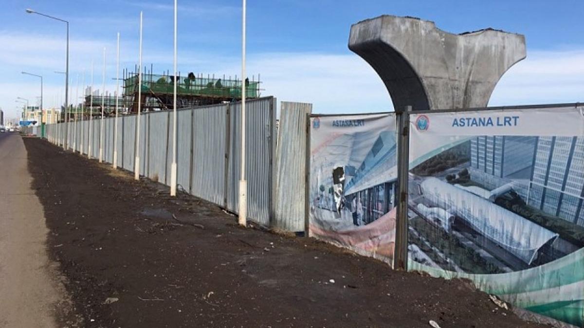 «Астана LRT» заявила в правоохранительные органы на своих подрядчиков, чтобы не стать банкротом
